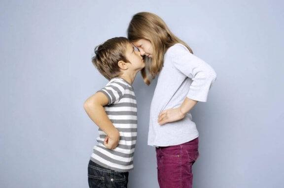 Geschwisterstreitigkeiten